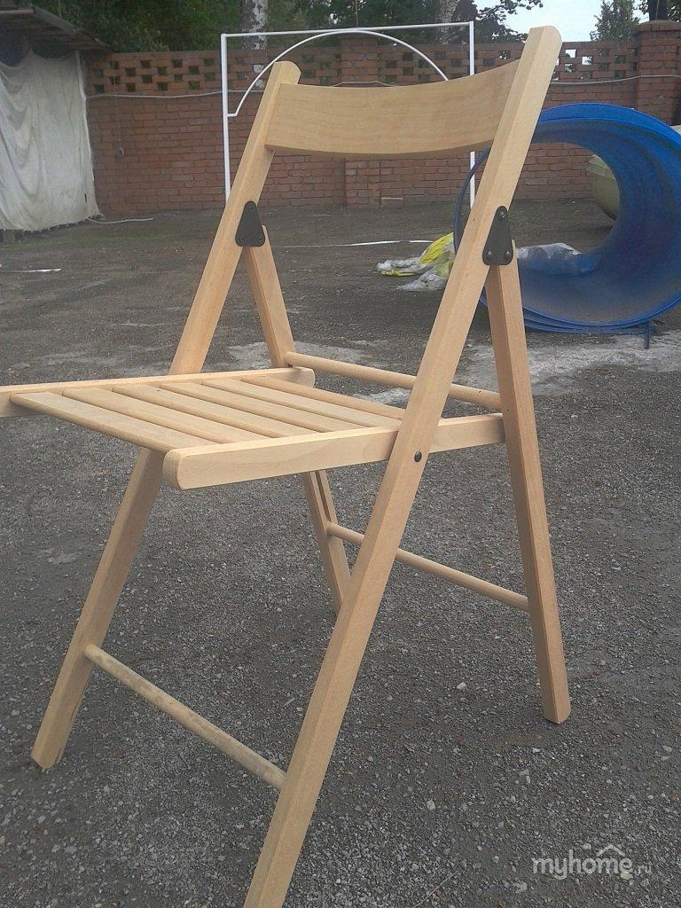 Складные стульчики со спинкой своими руками