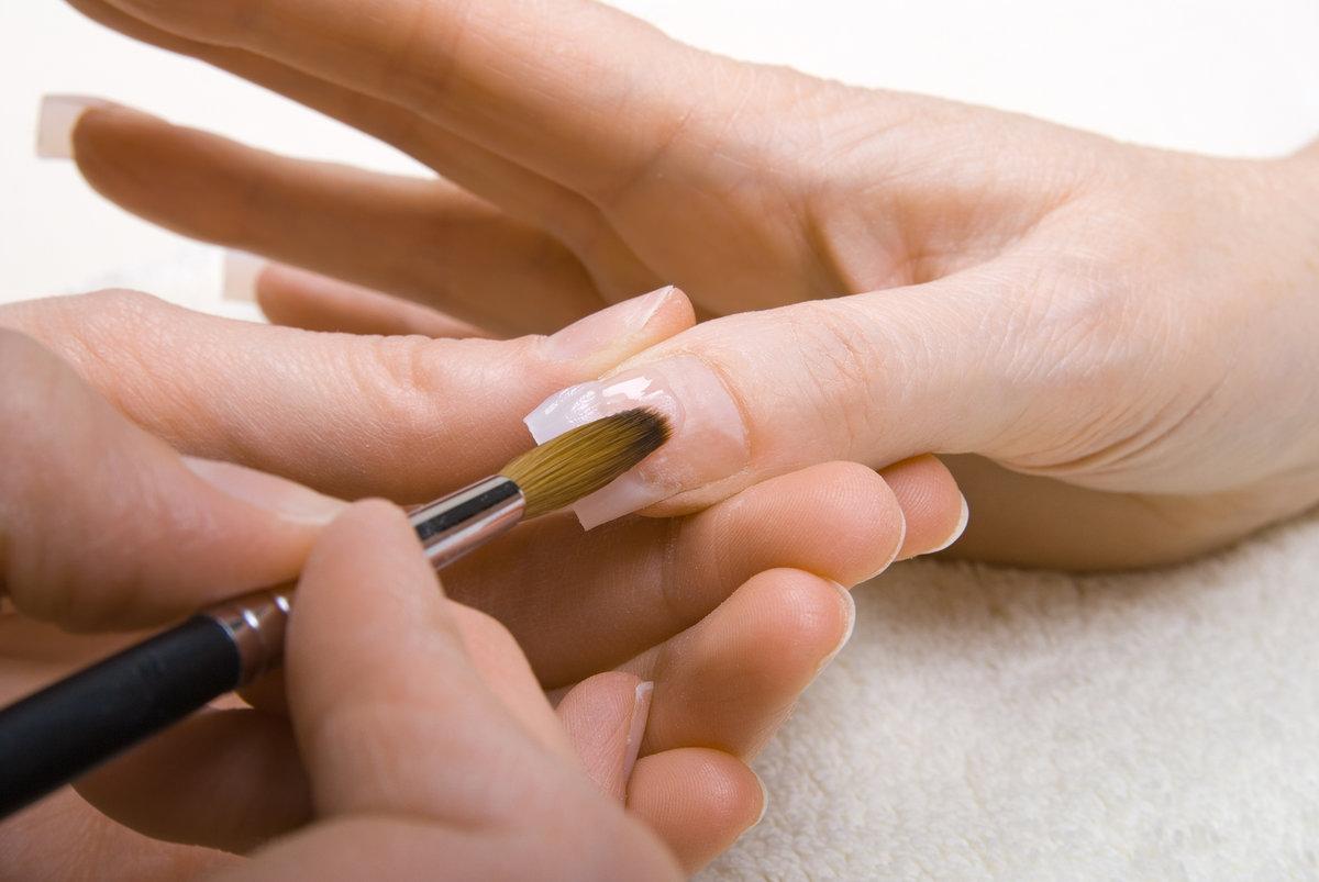 Как наращивать ногти на типсы пошагово фото