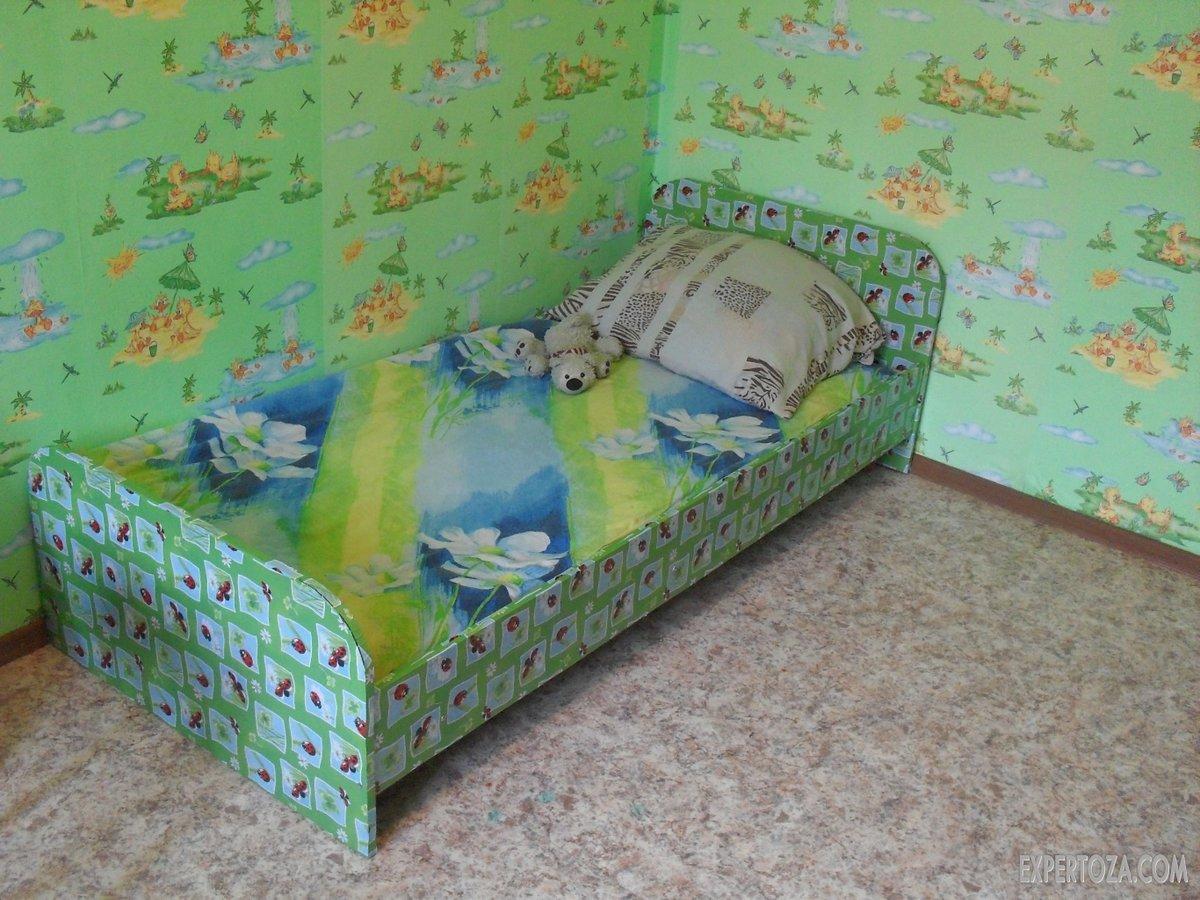 Сделать детскую кровать своими руками для девочки