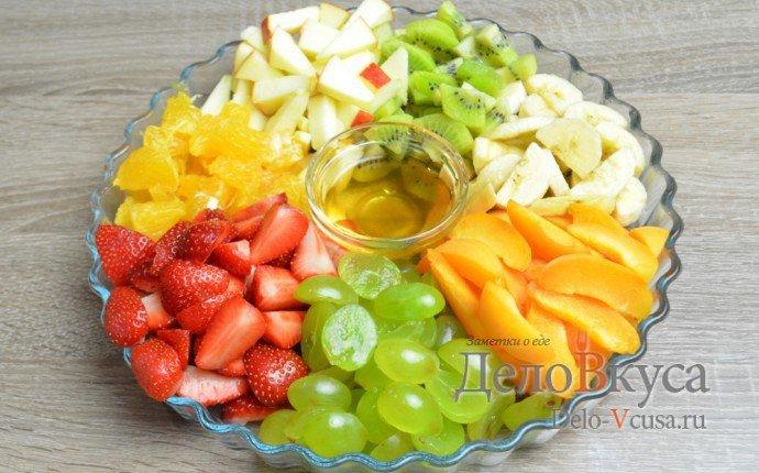 Как сделать фруктовый салат вкусно и