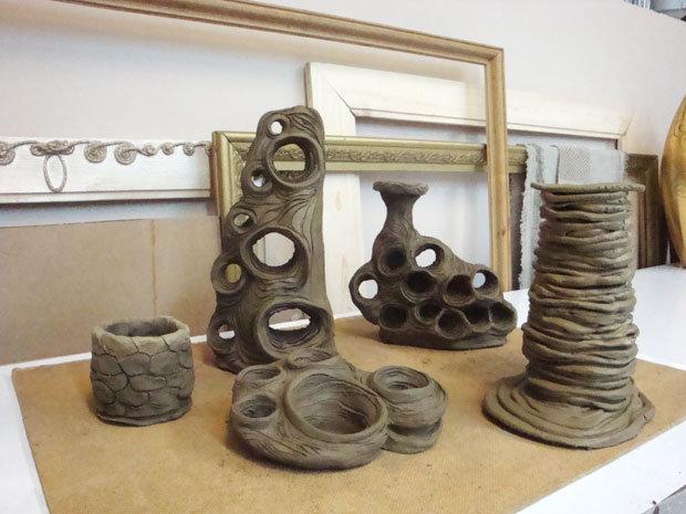 Глиняная посуда без обжига
