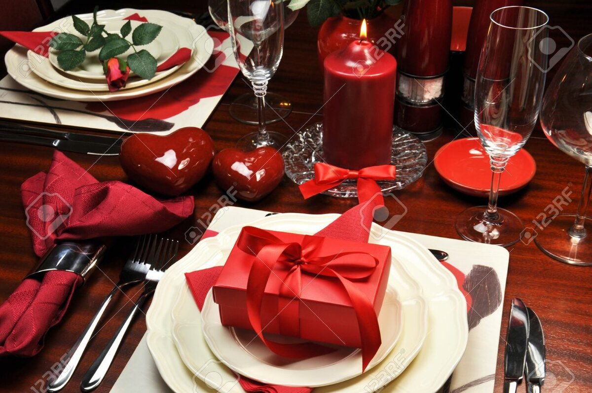 Как сделать уютный романтический ужин своими руками 35