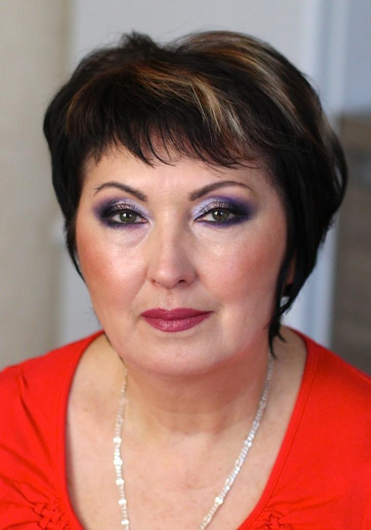 Правильный макияж 50 лет женщине