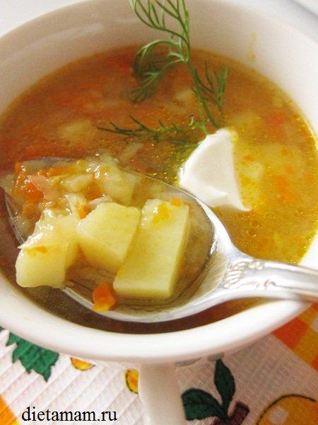 Суп для кормящих рецепты