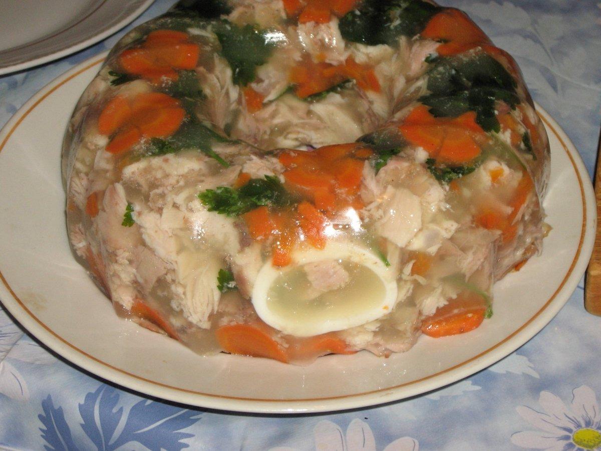 Рецепт заливного пошагово