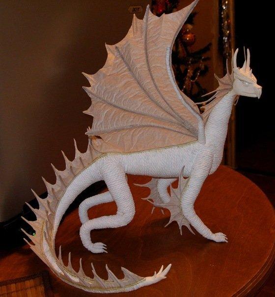 Своими руками из бумаги дракон