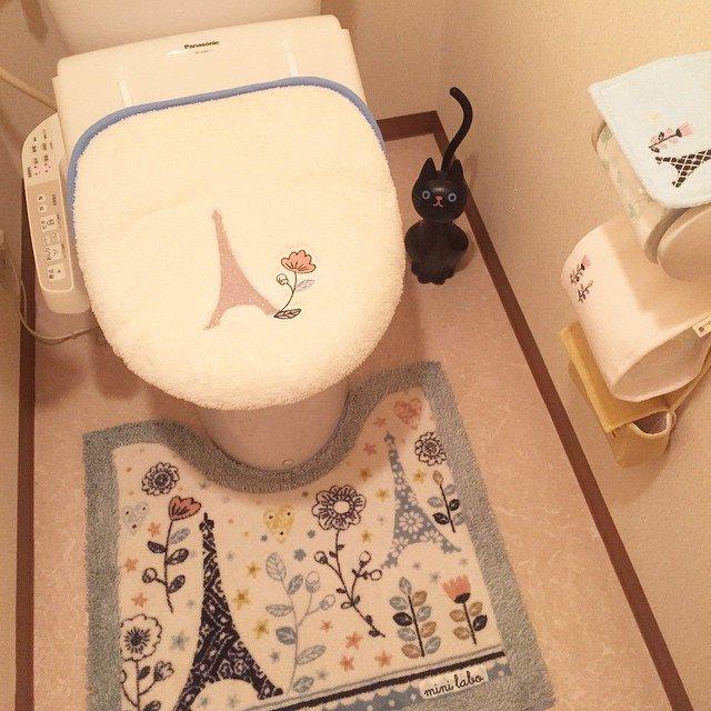 Коврик для ванной и туалета своими руками 30