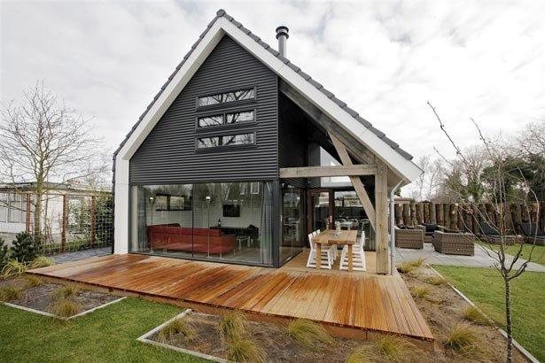 Современная архитектура маленький частный дом