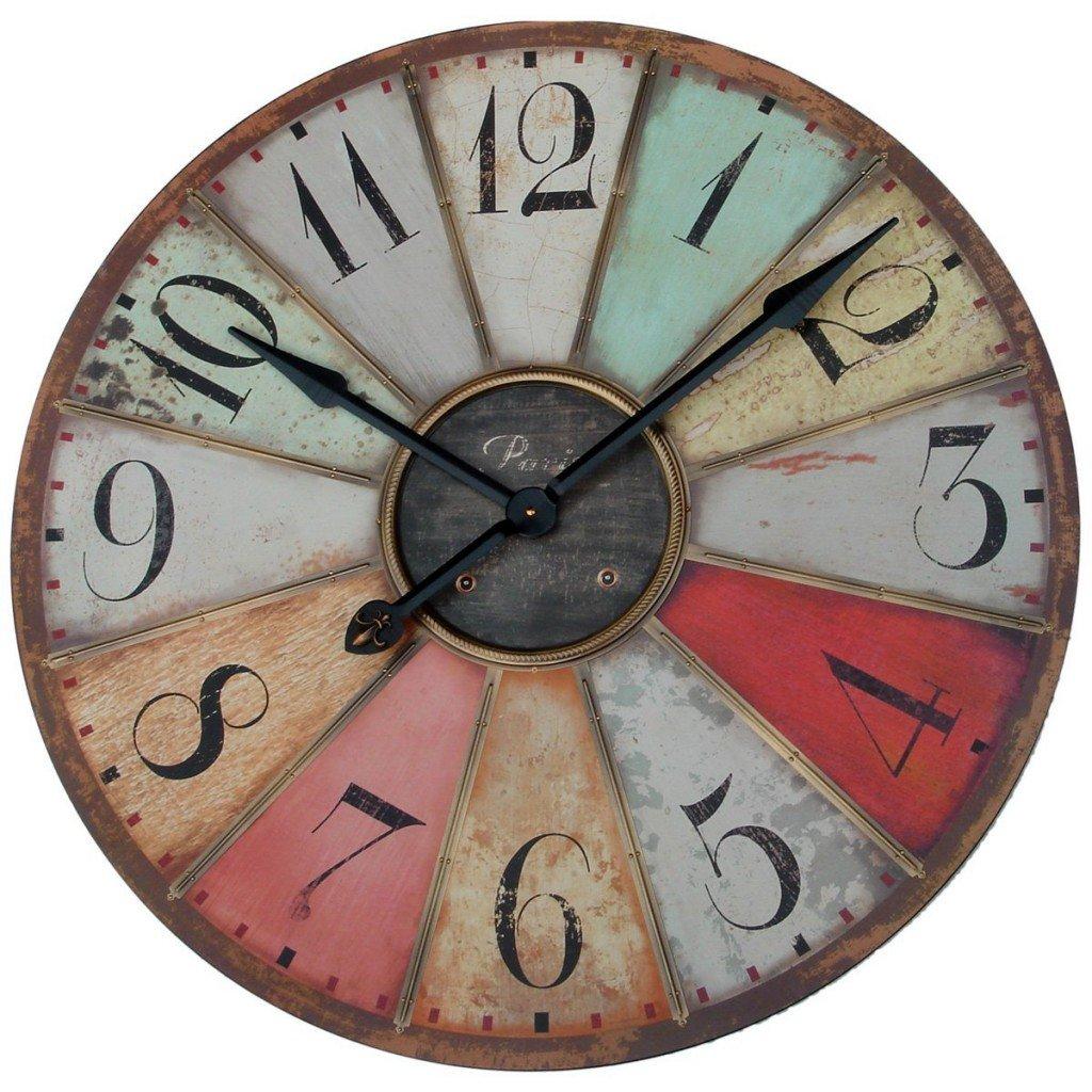 Винтажные настенные часы своими руками 48