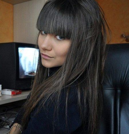 Фото цвет волос пепельно темный