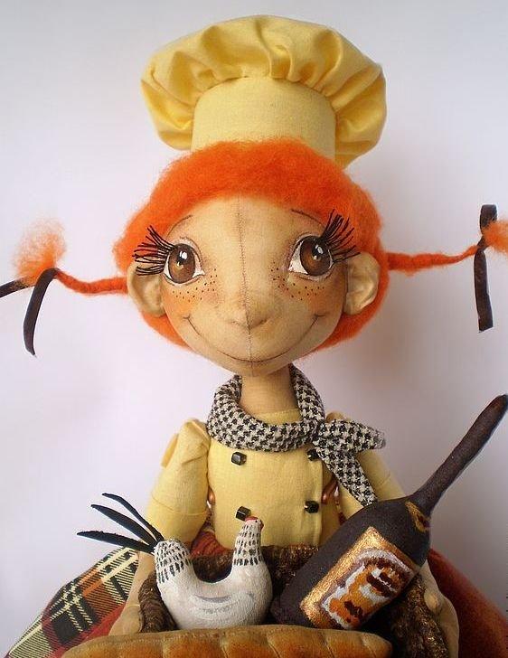 Структурная кукла мастер класс