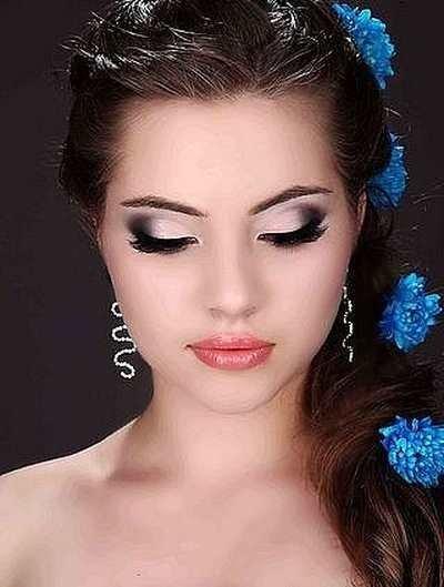 Фото красивые свадебные макияжи
