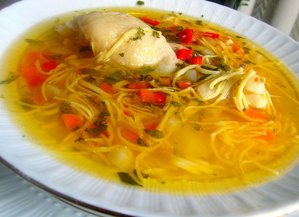 Суп с филе курицы рецепт пошагово 392