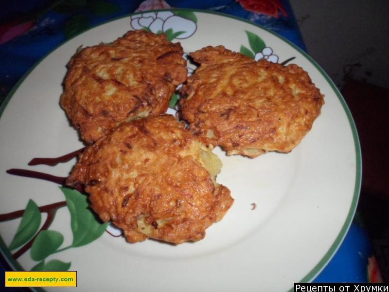 Пошаговый рецепт драников картофельных с