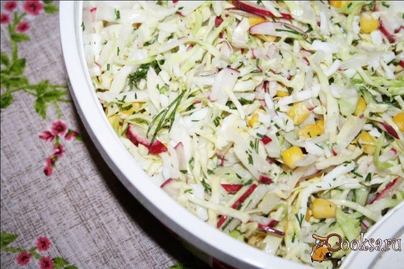 Салаты с капустой рецепты простые и вкусные недорого