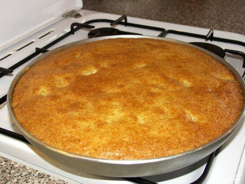 Пирог без яиц рецепт пошагово