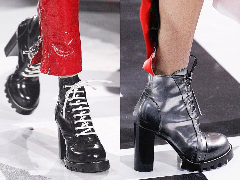 Модная подошва на обуви 2018