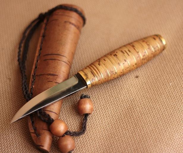 Берестяные ножны своими руками 38