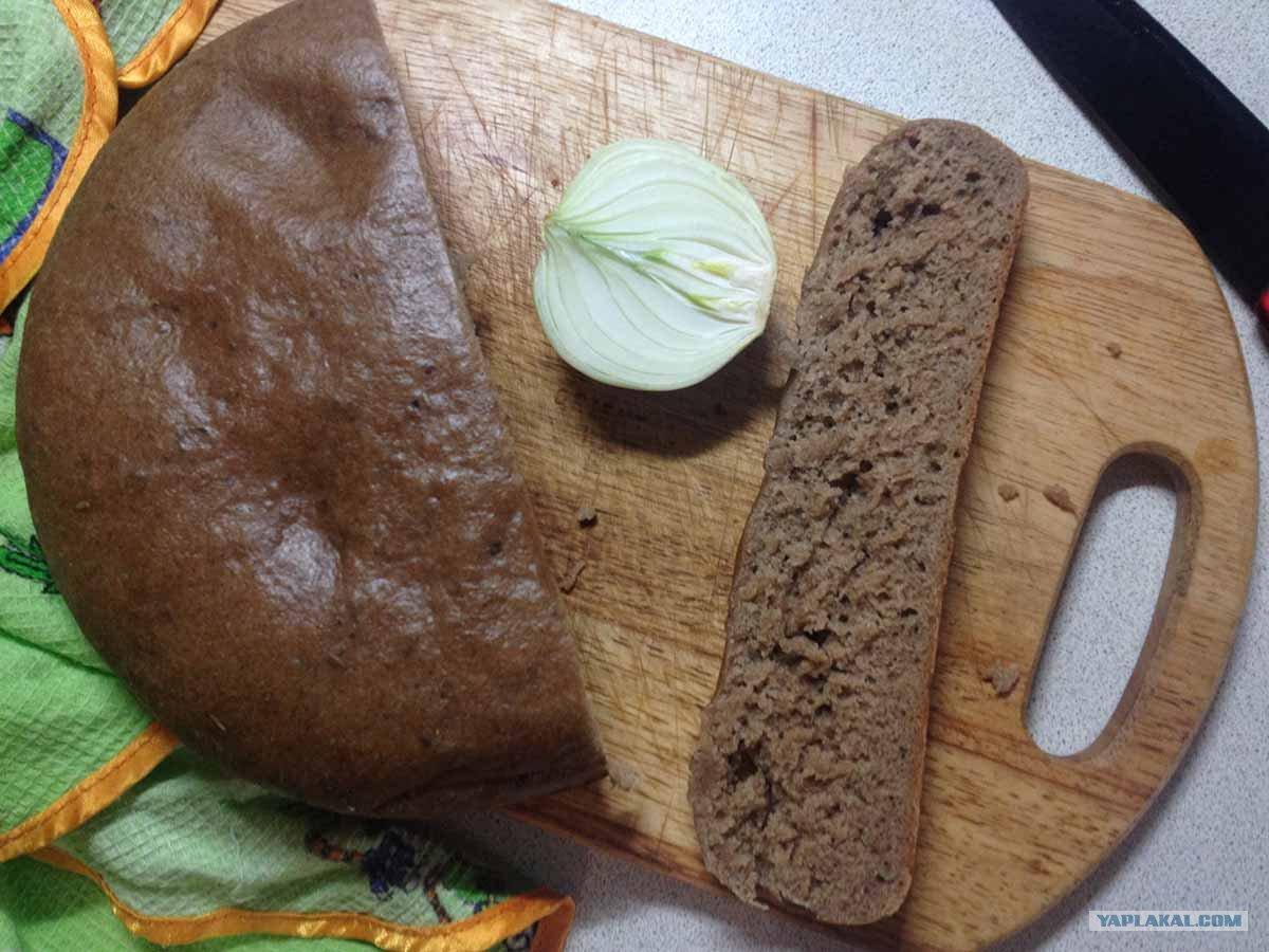 Заливной хлеб в домашних условиях в духовке рецепт