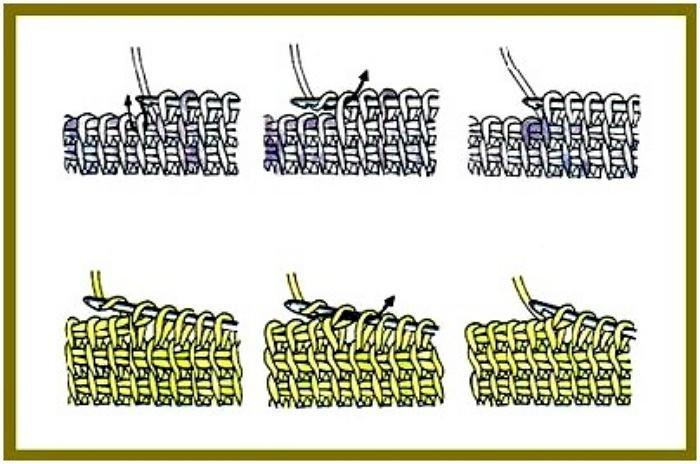 Тунисское вязание как это 51