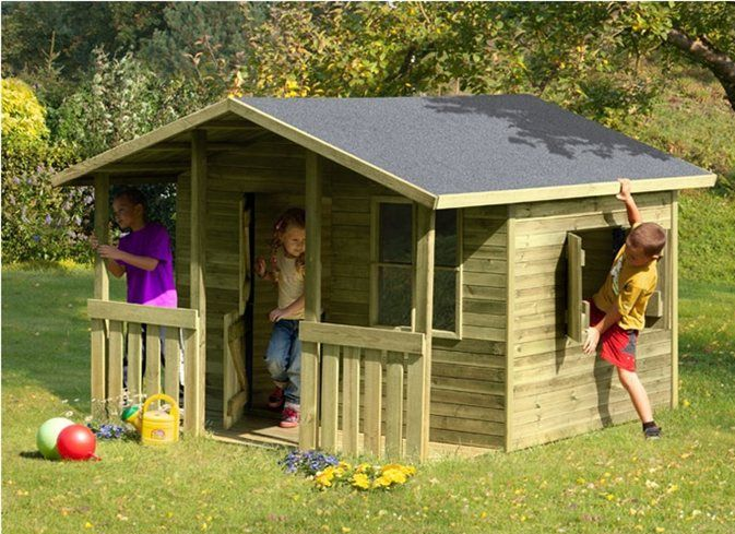 Деревянные дома для детей своими руками20