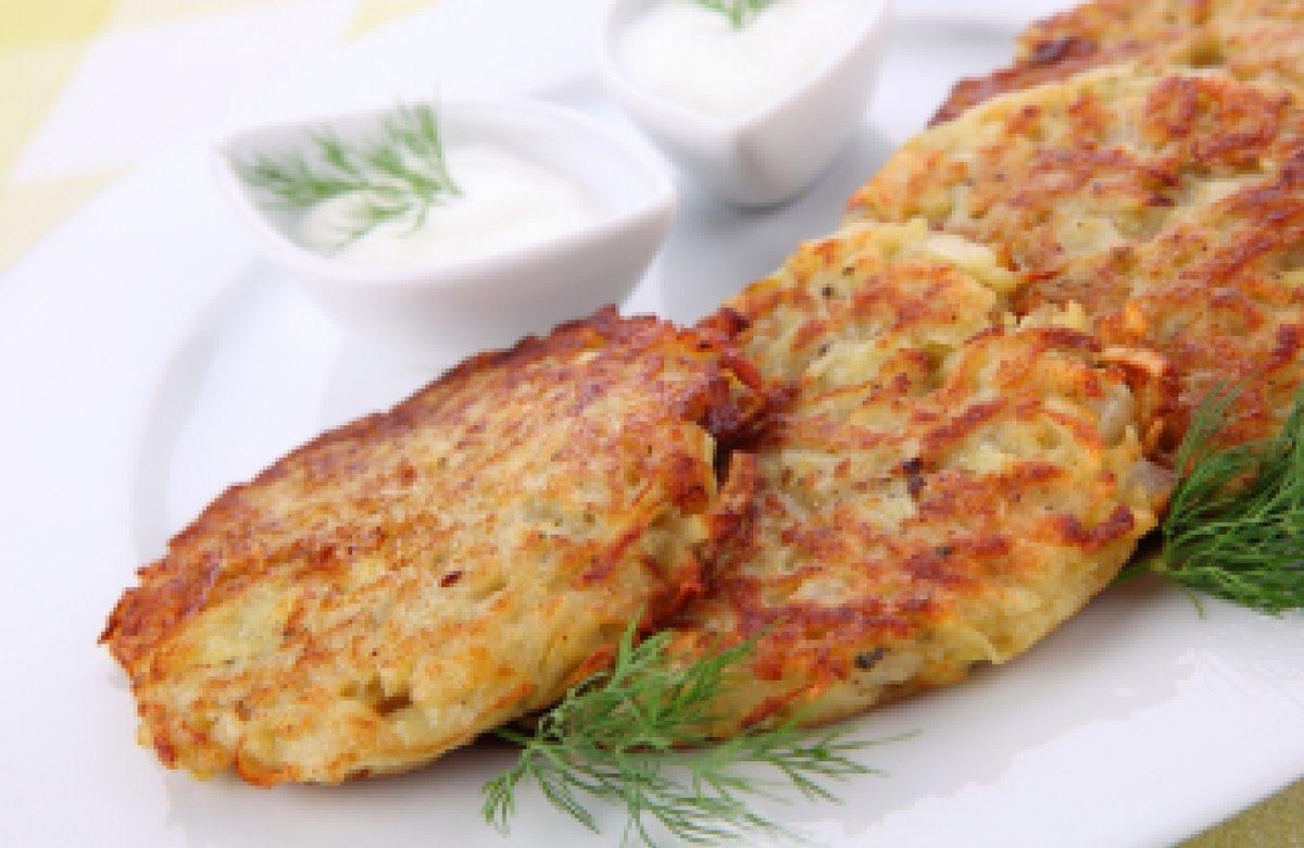 Рецепт дерунів з картоплі