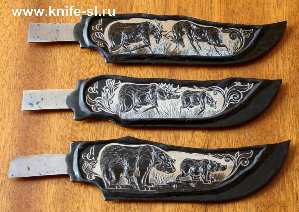 Как сделать рисунок для ножа 983