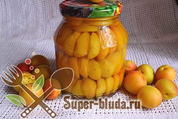 Рецепт абрикосы в сиропе фото