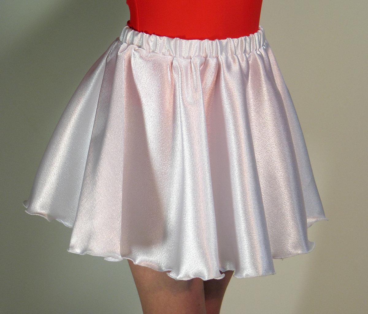 Шифоновая юбка для девочки своими руками
