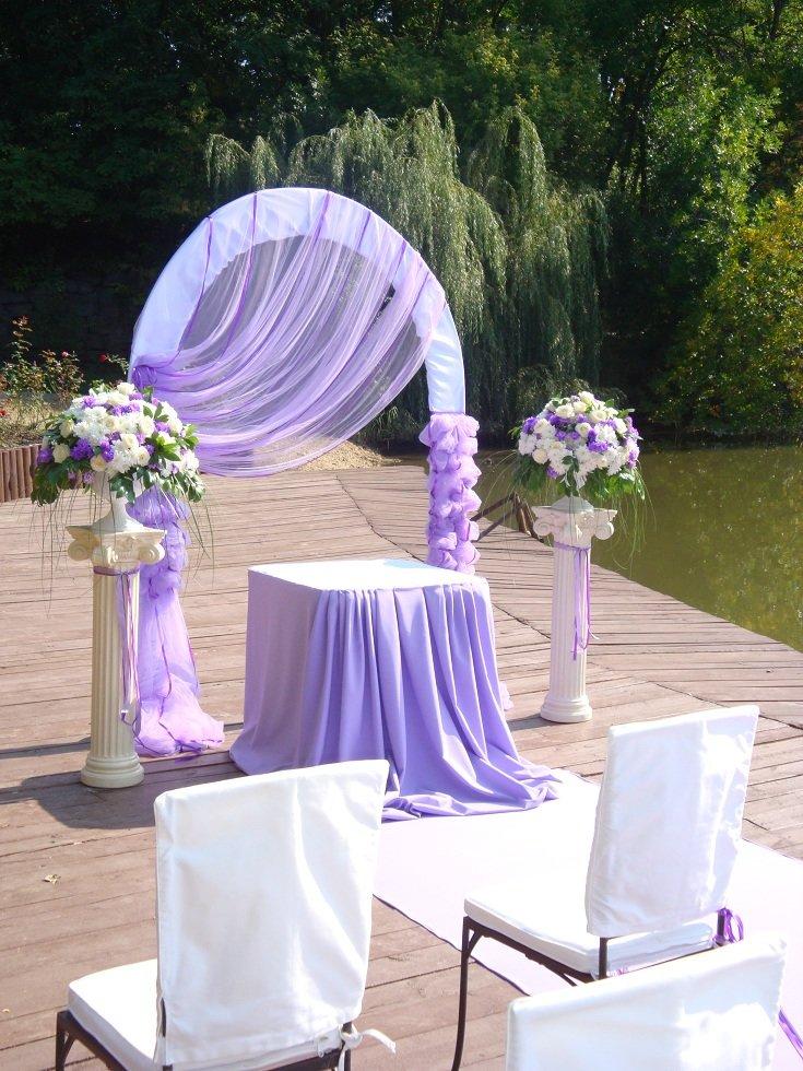 Украшение своими руками для свадьбы арка 403