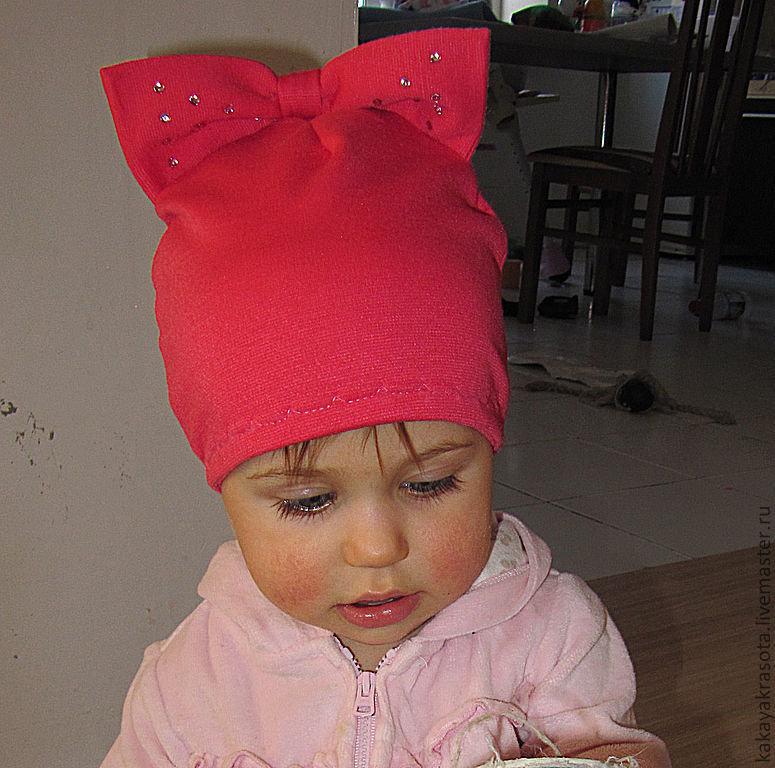 Как сшить шапочки для девочек своими руками
