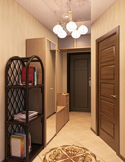 Ремонт квартиры коридор в хрущевке