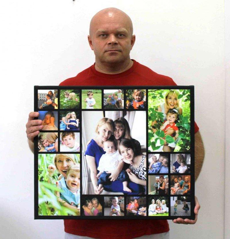 Фотоколлаж на день рождение своими руками