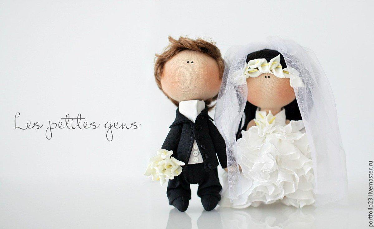 Своими руками невеста и жених кукла сшить 52