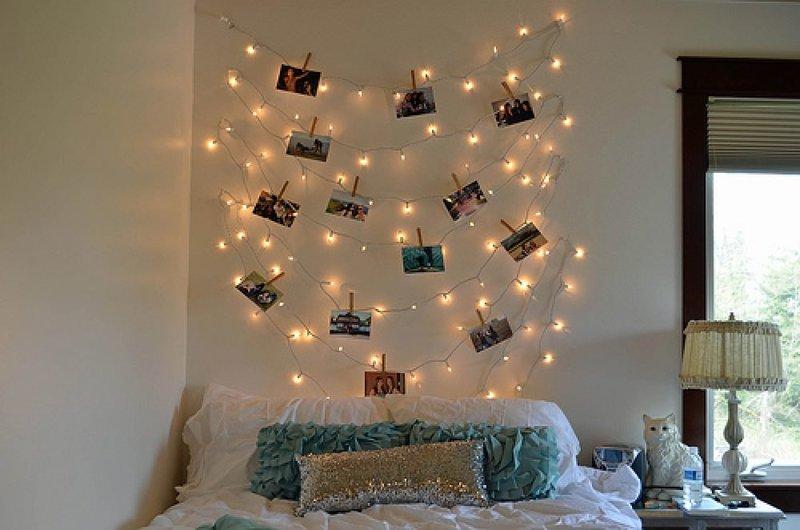 Как украсить комнату своими руками фото из бумаги