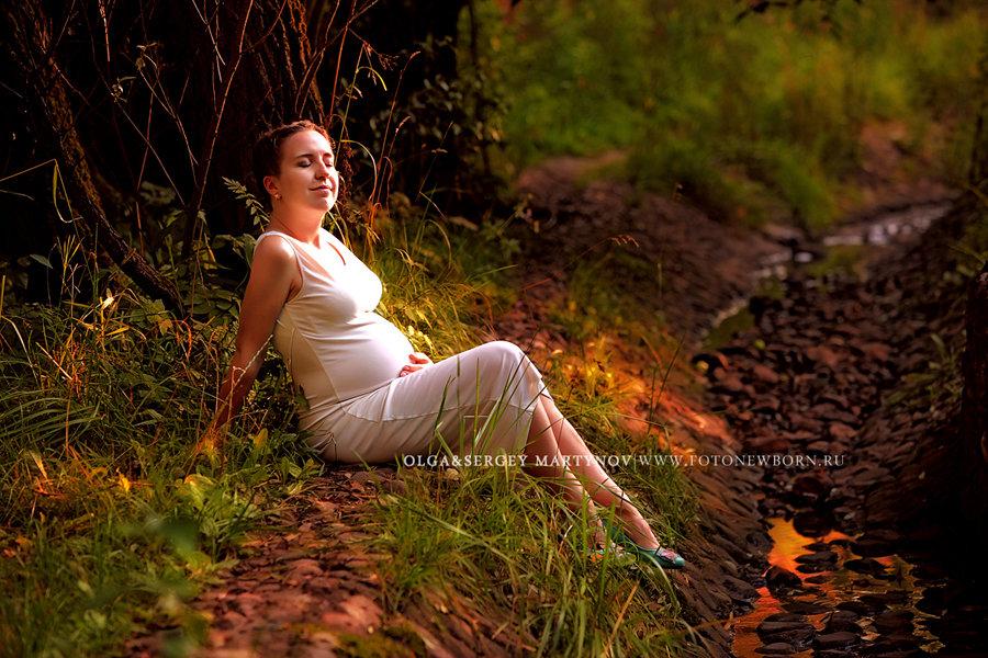 Беременная в лесу фото 58