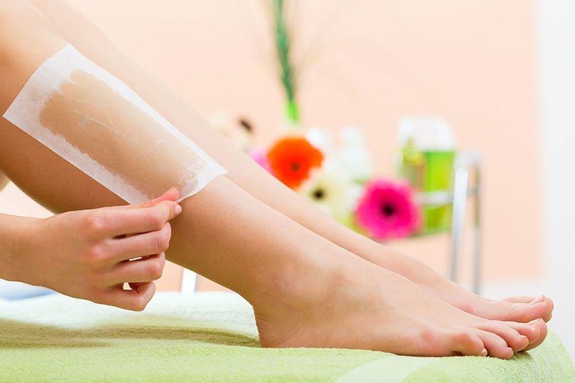 Депиляция ног кремами