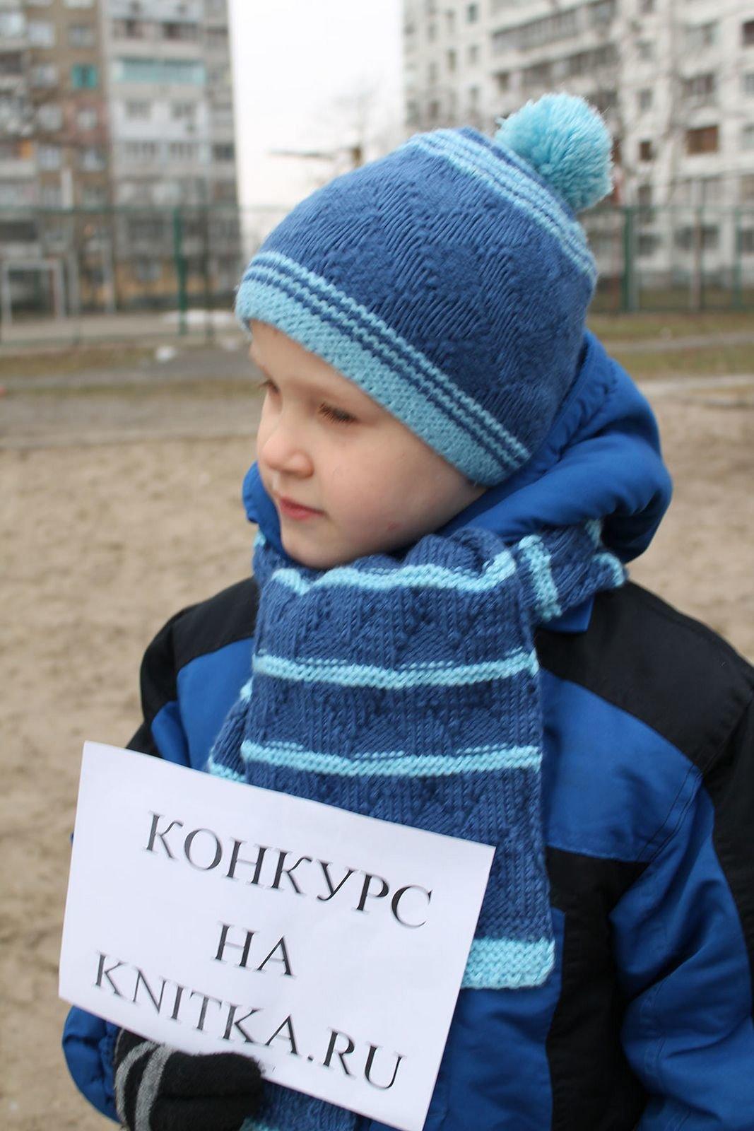 Шапки и шарфы для мальчиков вязание 97