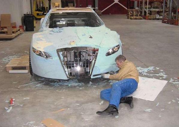 Как изменить кузов автомобиля своими руками 75