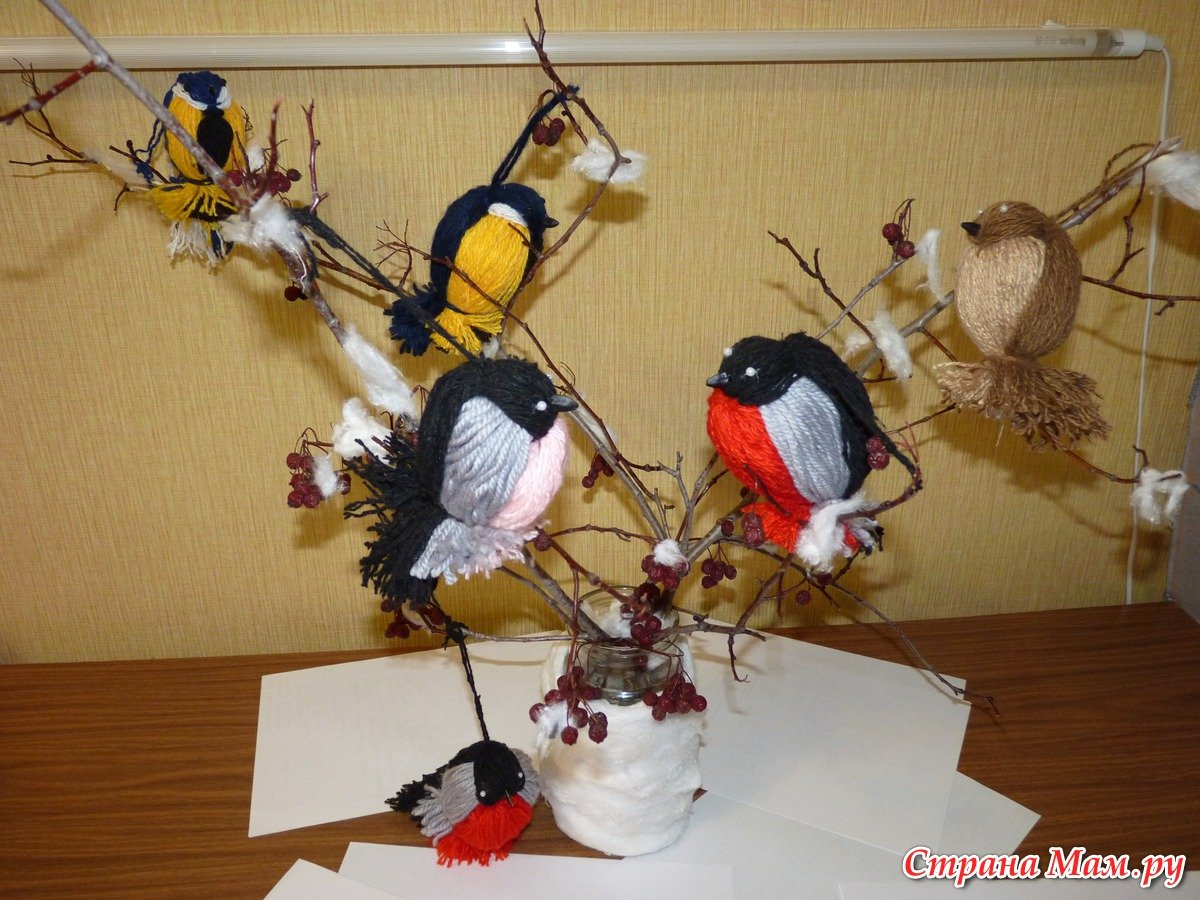 Поделка птички картинки