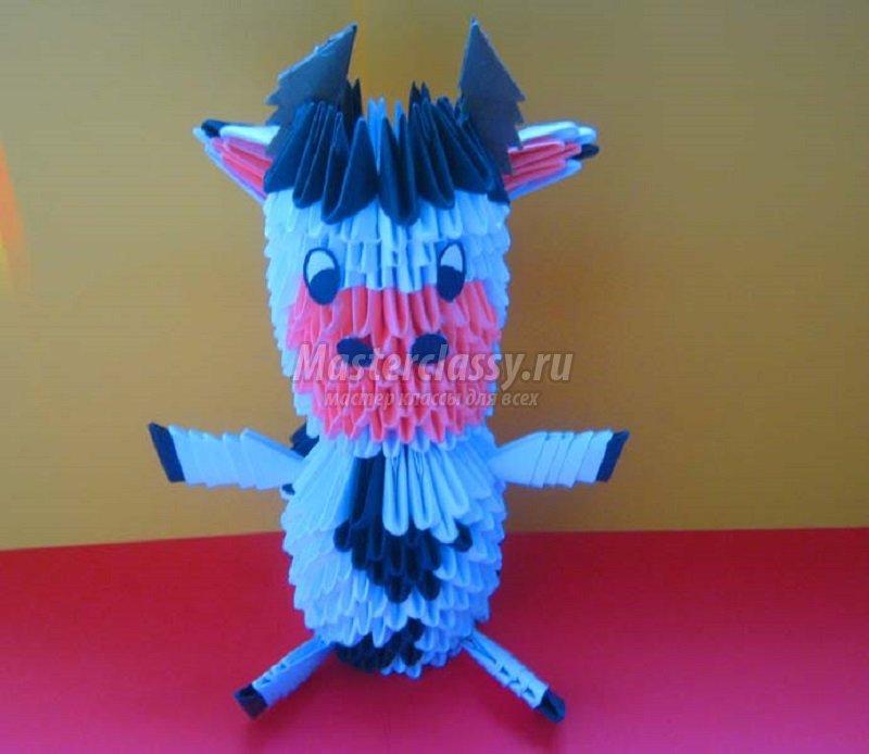 Оригинальные поделки модульного оригами