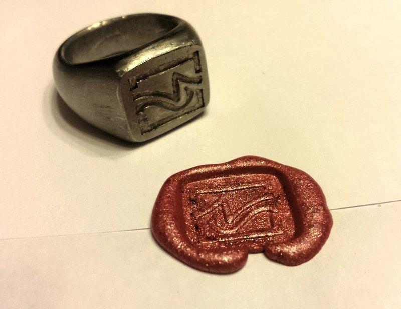 Как сделать кольцо печатку своими руками