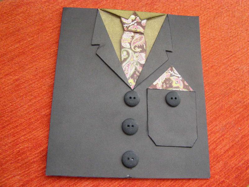 Открытка для папы своими руками открытка рубашка