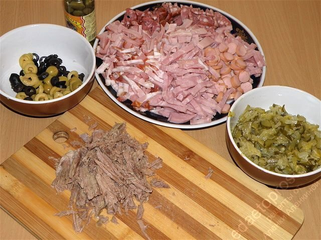 Солянка сборная мясная рецепт приготовления пошагово