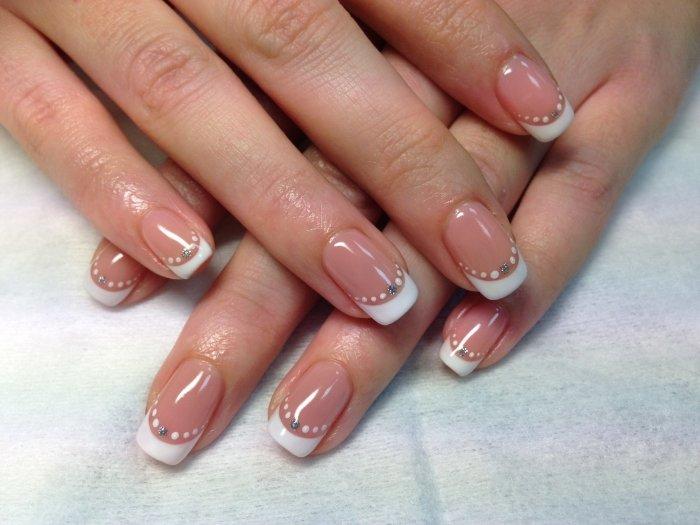 Маникюр ногтей шеллак дизайн