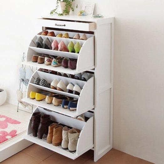 Компактная обувница своими руками 31