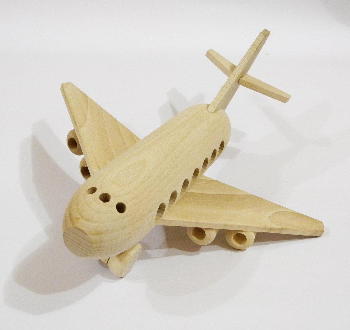 Как сделать модель самолёт из дерева своими руками