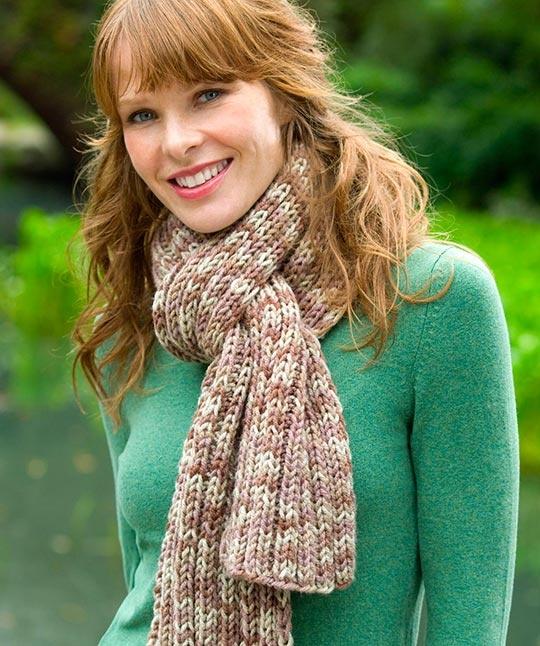 Вязание красивые женские шарфы 4