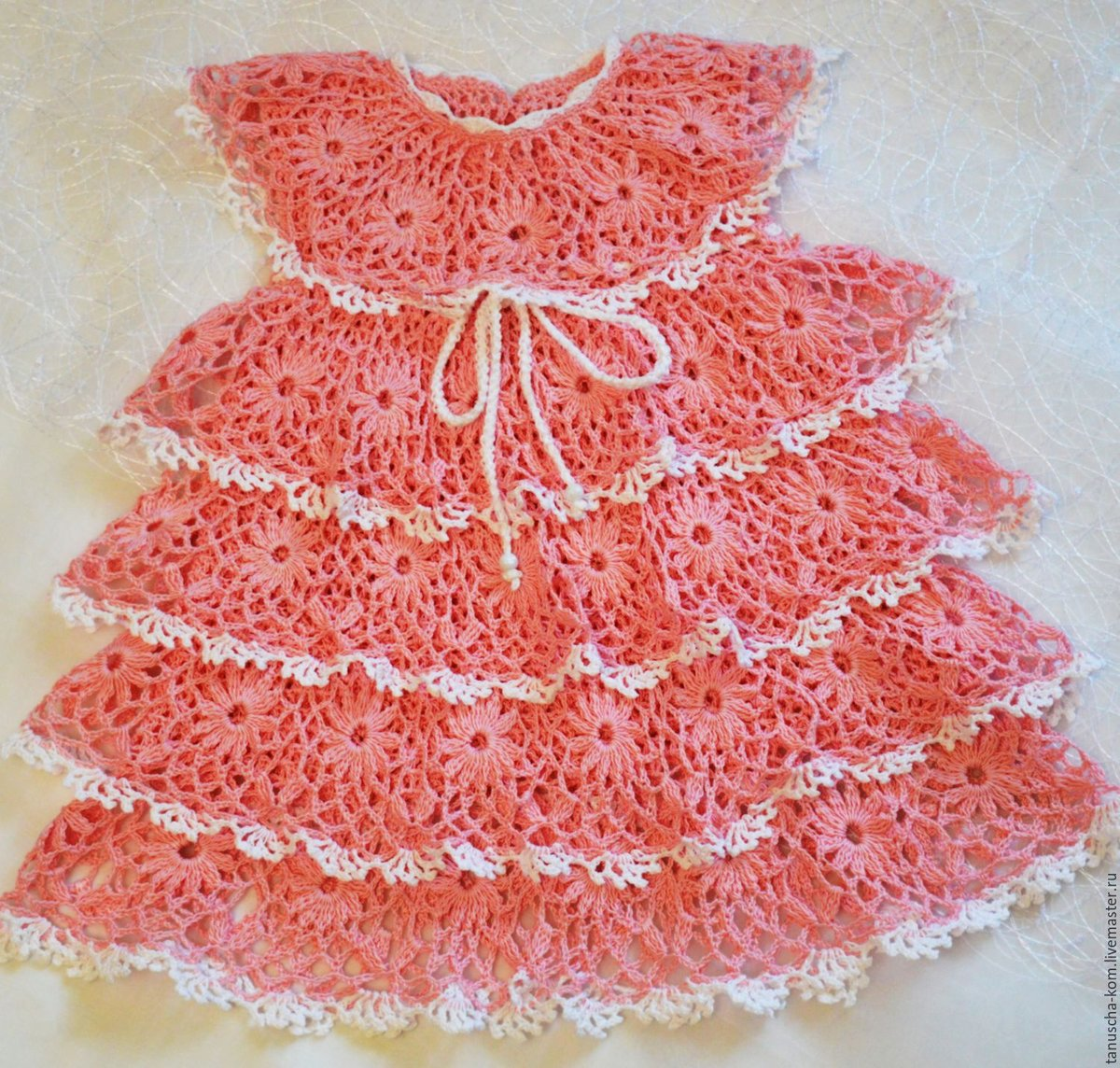 Поиск на Постиле: Платье спицами для девочки 72