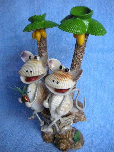 Игрушки из ракушек своими руками